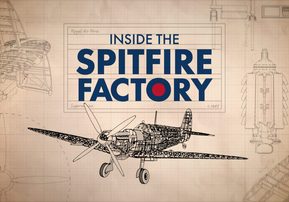 The Spitfore Factory Channel 5 Holey and Moley Whitworth Media Channel 5 Holey and Moley Whitworth Media